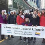 Crossroads at the Jan 2017 Womens March Vancouver