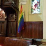 GowerStUC-Rainbow flag