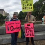 AntiConversionTherapyRally-ABLegislature-Spring2019